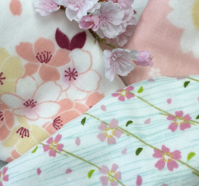 さくらの開花とSAKURAへの想いと桜柄のタオル