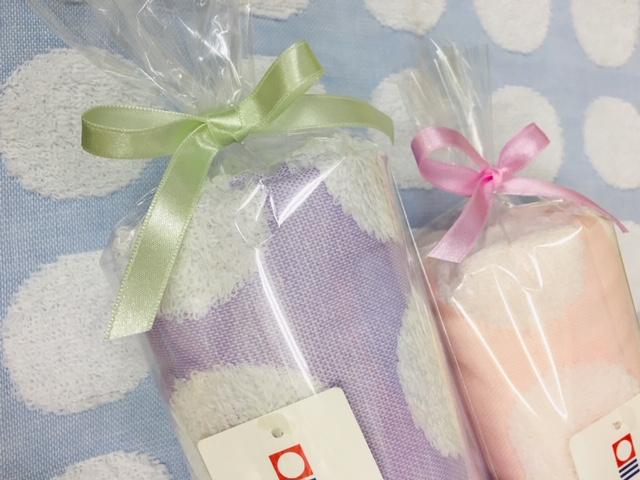 ホワイトデーのお返しに困ったらタオルを  松竹タオル店